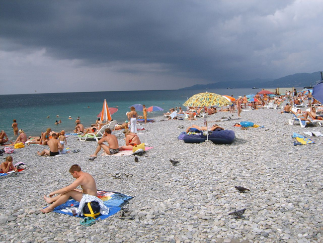 НУ И ПОГОДА: Погода на август в Адлере