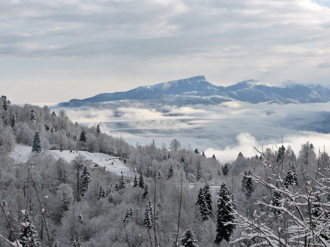 Отдых в Лагонаки зимой - статья на Hochu-na-Yuga.ru