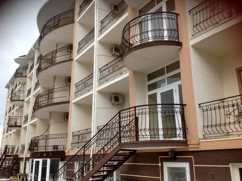 Гортензия отель саки