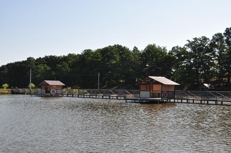 Рыбалка возле Горячего ключа
