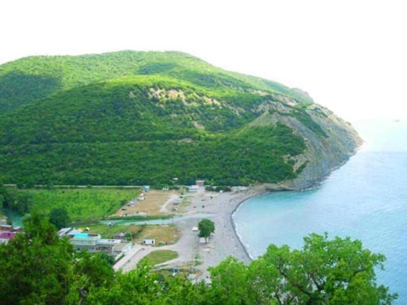 Пляж в абрау-дюрсо фото пляжа и набережной